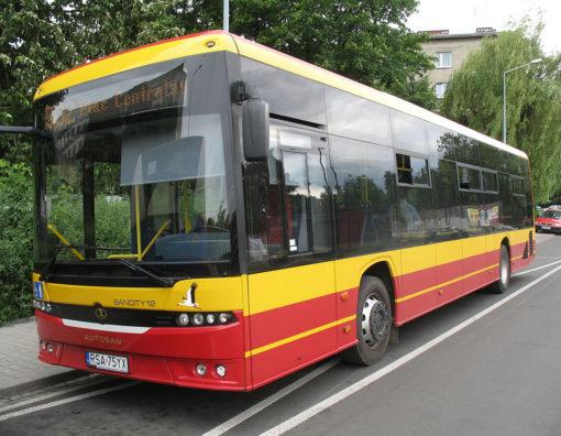 autobus cracovia
