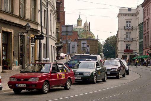 taxi cracovia