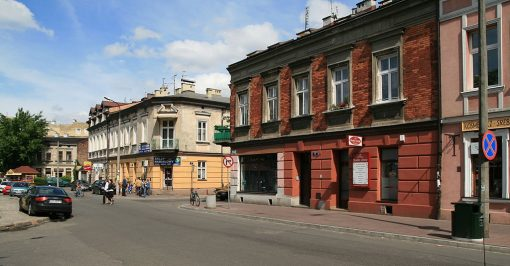 calles barrio debniki cracovia