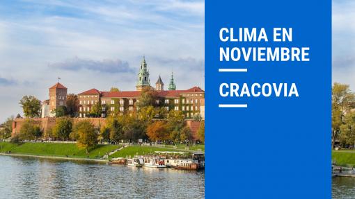 clima en cracovia noviembre