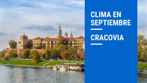 clima en cracovia septiembre