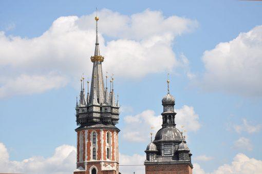 Subir a la torre de la Basilica de Santa Maria Cracovia