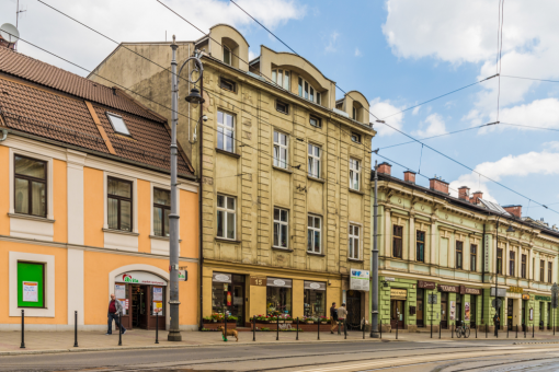 calles barrio podgorze cracovia