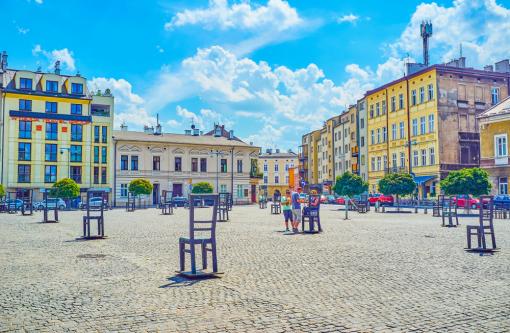 Plaza de los Héroes del Gueto, Cracovia