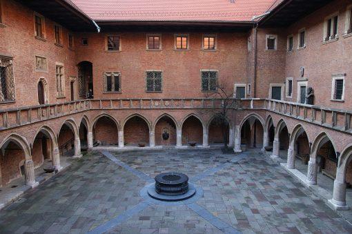 claustro Collegium Maius de Cracovia