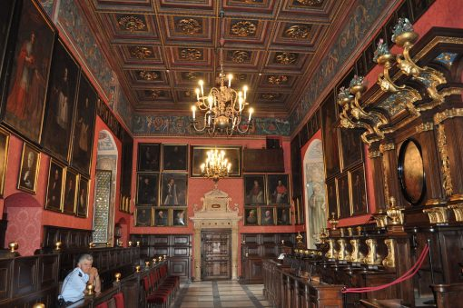Interior Collegium Maius de Cracovia