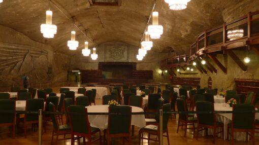 restaurantes minas de sal de wieliczka