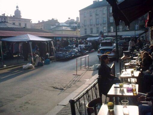 Mercado de Plac Nowy Cracovia